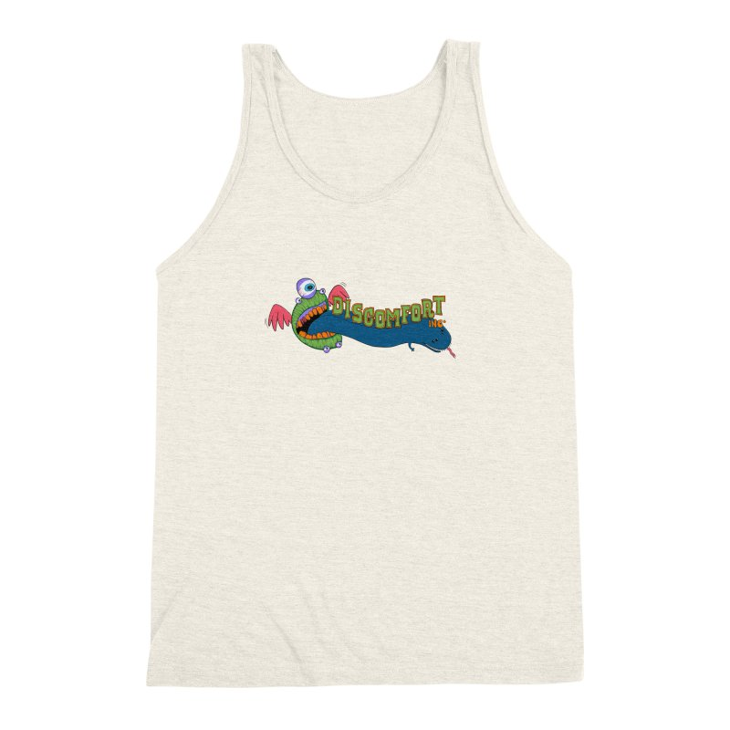 Floss More Men's Triblend Tank by —Discomfort Incorporated—    Low Brow Vibes