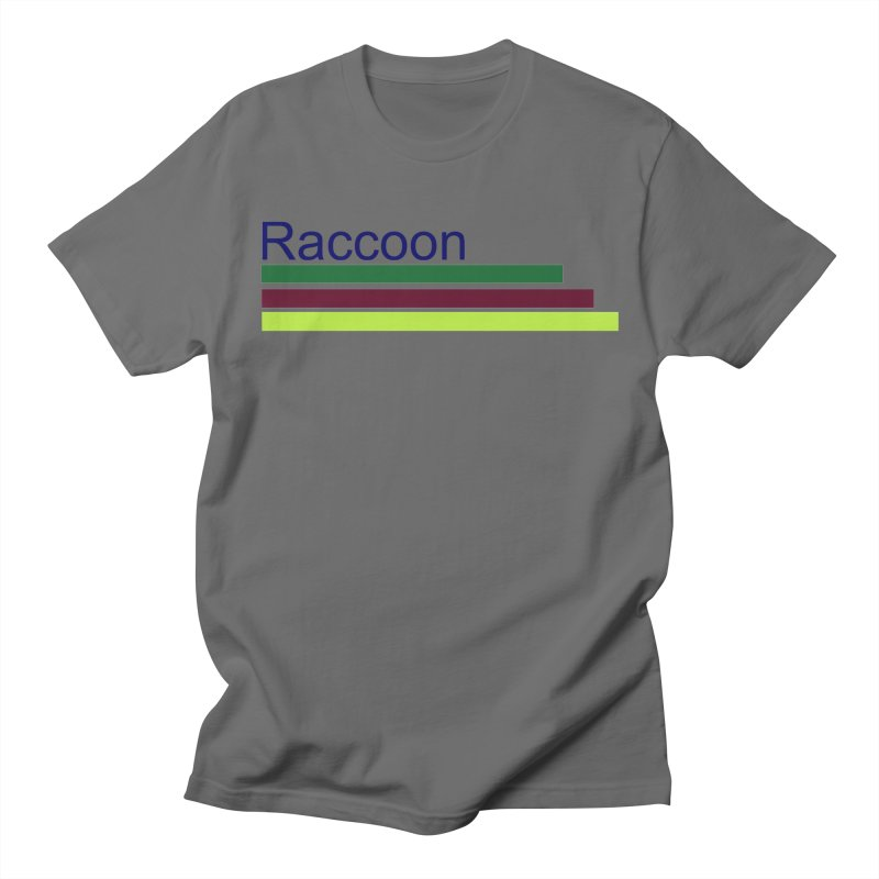 Raccoon Men's T-Shirt by disonia's Artist Shop