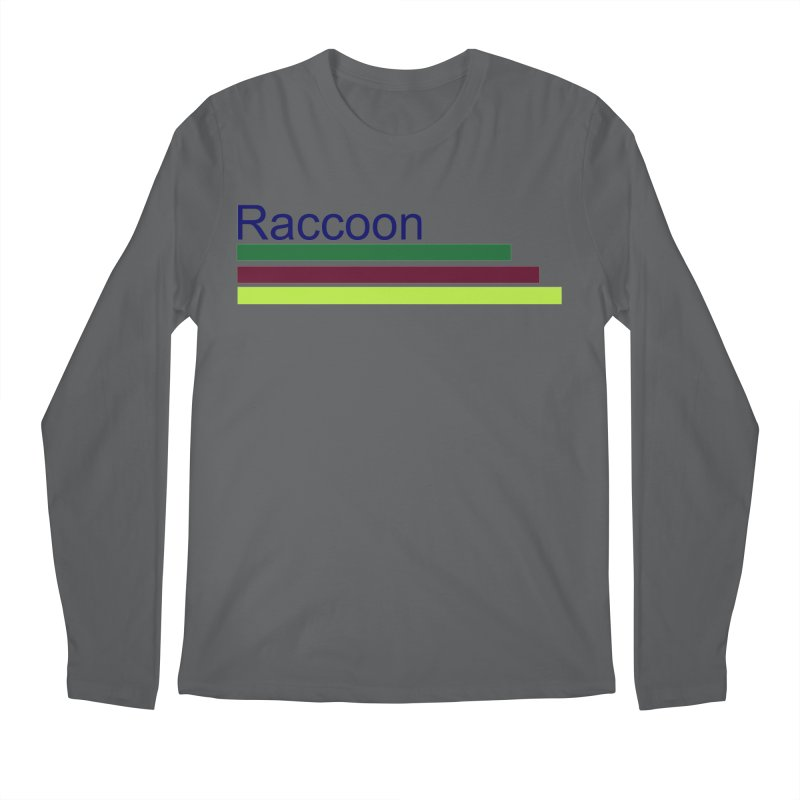 Raccoon Men's Regular Longsleeve T-Shirt by disonia's Artist Shop