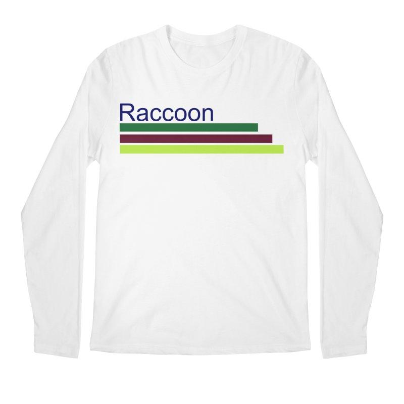 Raccoon Men's Regular Longsleeve T-Shirt by disonia's Artist Shop