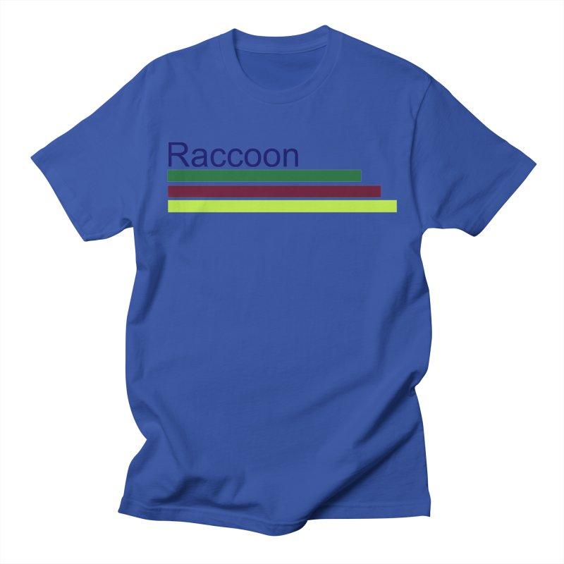 Raccoon Men's Regular T-Shirt by disonia's Artist Shop