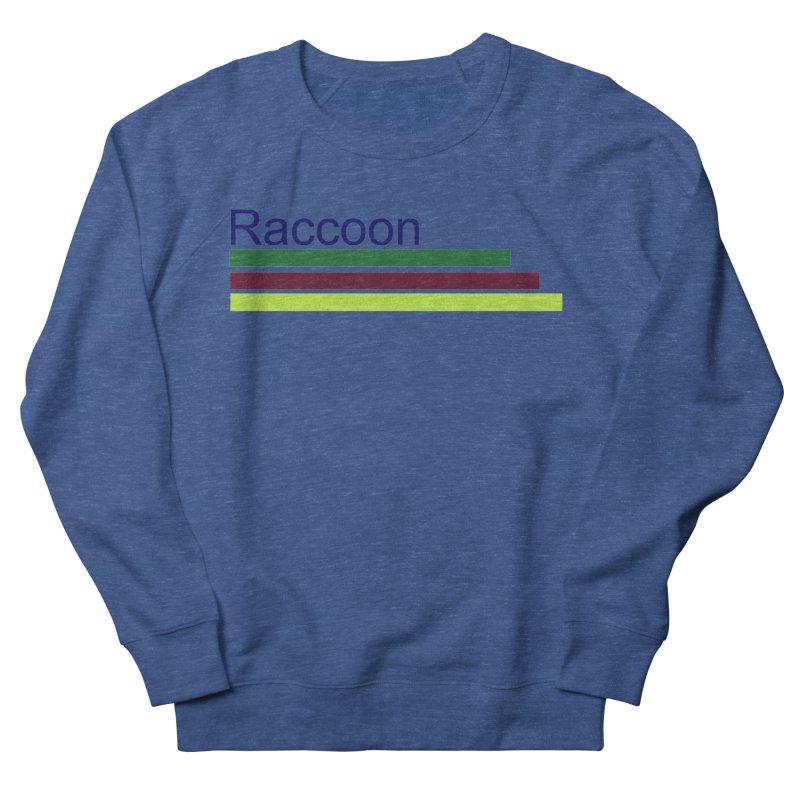 Raccoon Women's French Terry Sweatshirt by disonia's Artist Shop