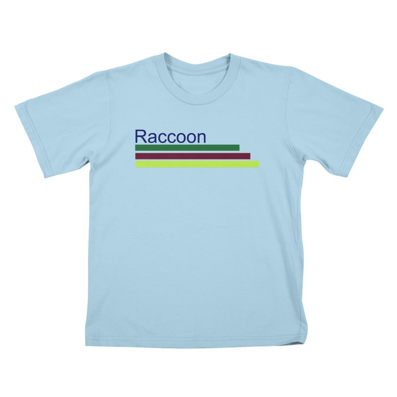 Raccoon Kids T-Shirt by disonia's Artist Shop