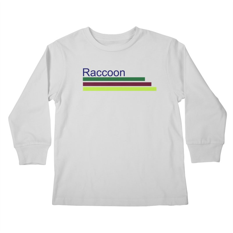 Raccoon Kids Longsleeve T-Shirt by disonia's Artist Shop