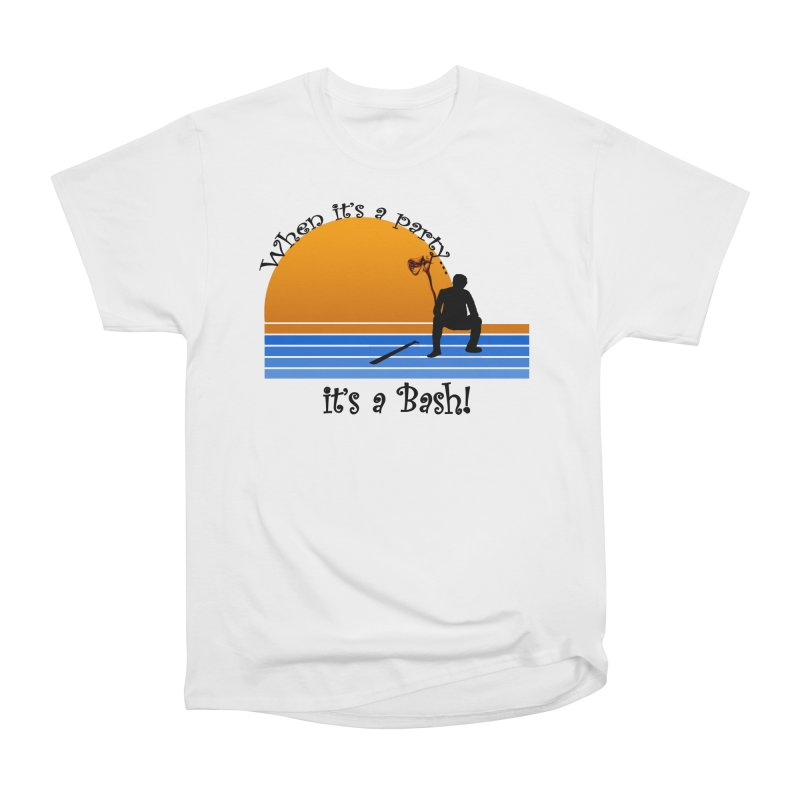 It's a Bash Men's Heavyweight T-Shirt by disonia's Artist Shop
