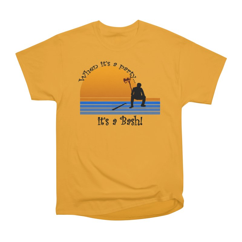 It's a Bash Women's Heavyweight Unisex T-Shirt by disonia's Artist Shop