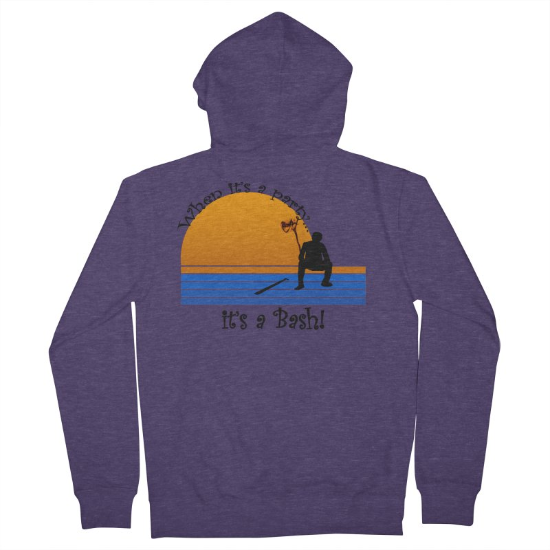 It's a Bash Men's French Terry Zip-Up Hoody by disonia's Artist Shop