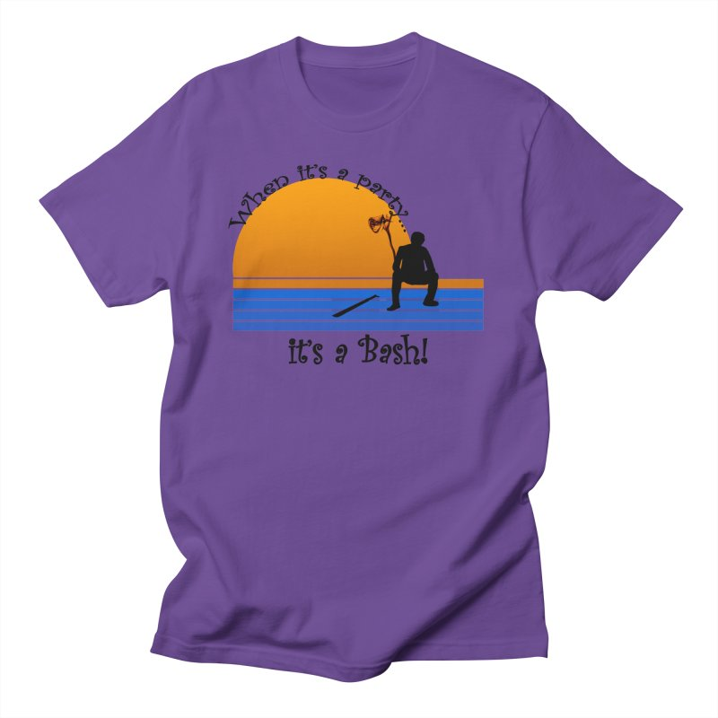 It's a Bash Women's Regular Unisex T-Shirt by disonia's Artist Shop