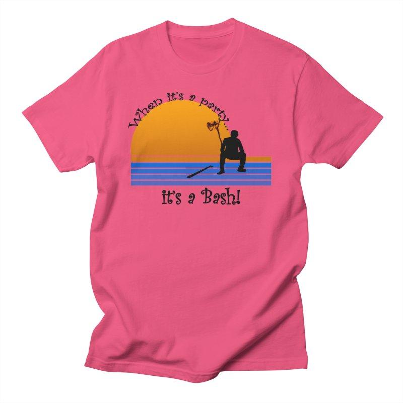 It's a Bash Women's Regular Unisex T-Shirt by disonia's Artist Shop