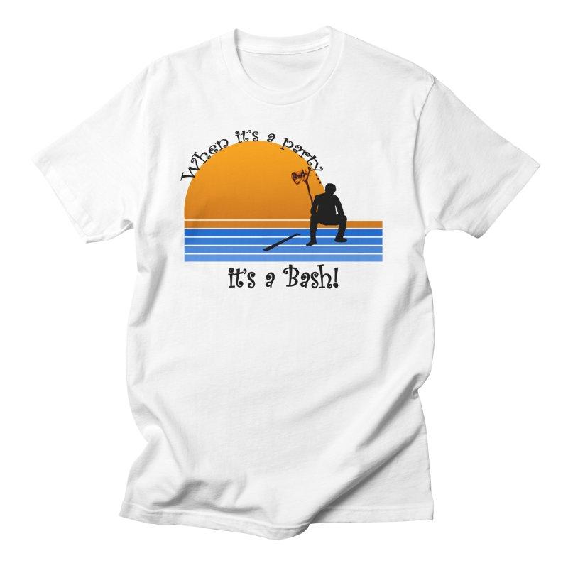 It's a Bash Men's Regular T-Shirt by disonia's Artist Shop