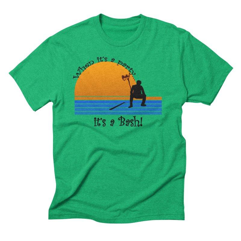 It's a Bash Men's Triblend T-Shirt by disonia's Artist Shop