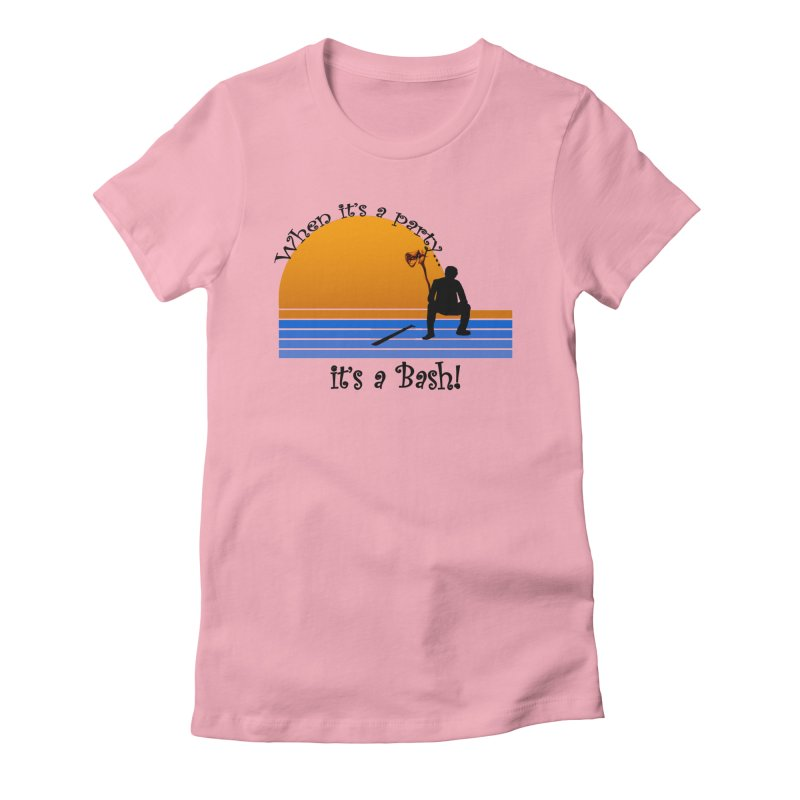 It's a Bash Women's Fitted T-Shirt by disonia's Artist Shop