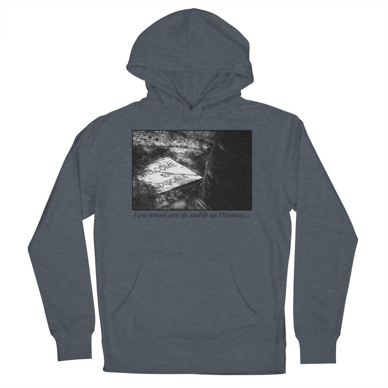 Stability Men's French Terry Pullover Hoody by disonia's Artist Shop