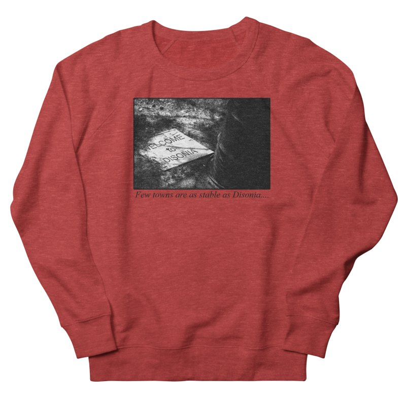 Stability Women's French Terry Sweatshirt by disonia's Artist Shop
