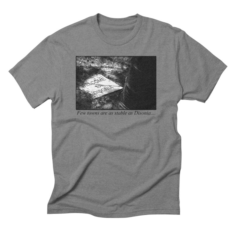 Stability Men's Triblend T-Shirt by disonia's Artist Shop