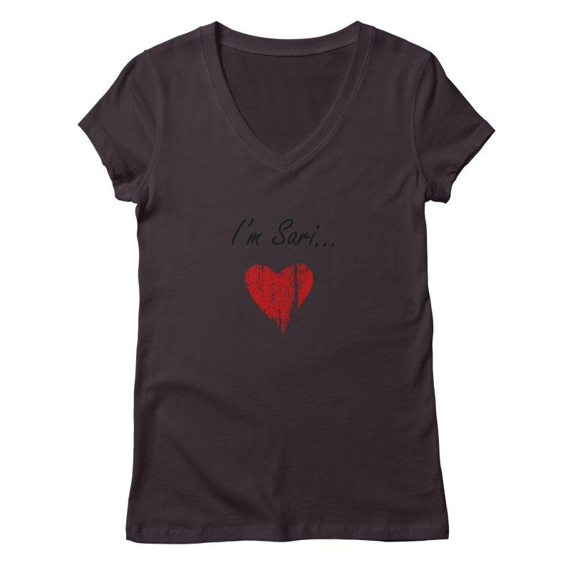I'm Sari Women's Regular V-Neck by disonia's Artist Shop