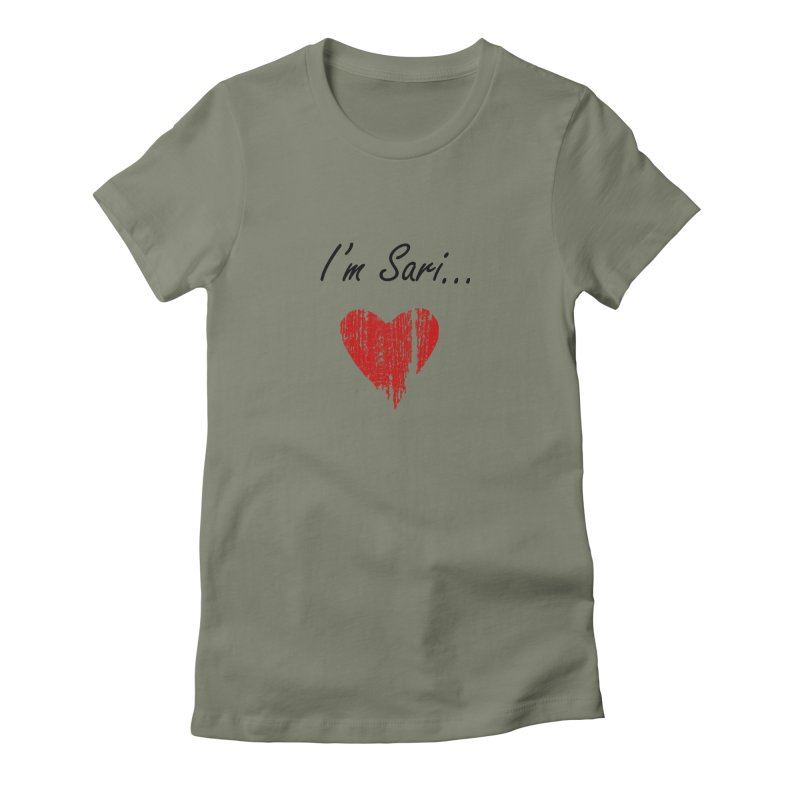 I'm Sari Women's Fitted T-Shirt by disonia's Artist Shop