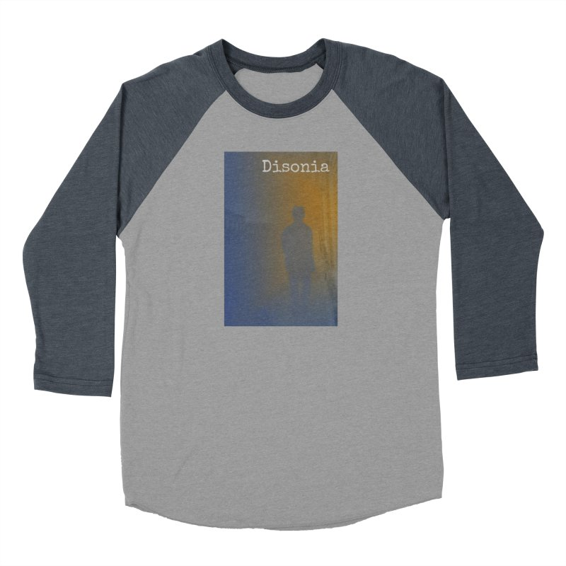Disonia Cover Men's Baseball Triblend Longsleeve T-Shirt by disonia's Artist Shop