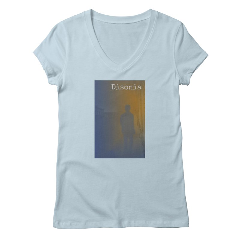Disonia Cover Women's Regular V-Neck by disonia's Artist Shop