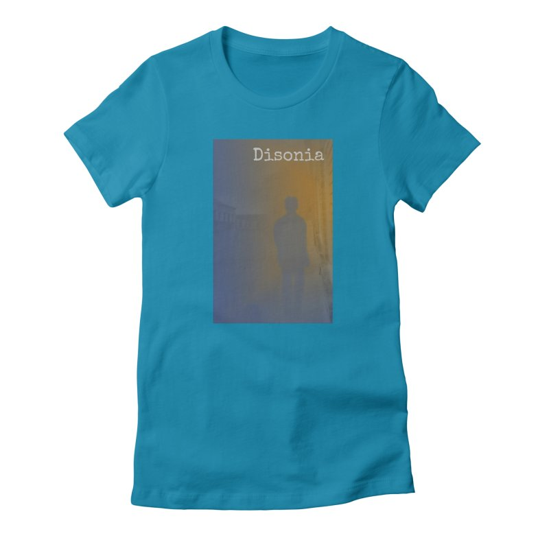 Disonia Cover Women's Fitted T-Shirt by disonia's Artist Shop