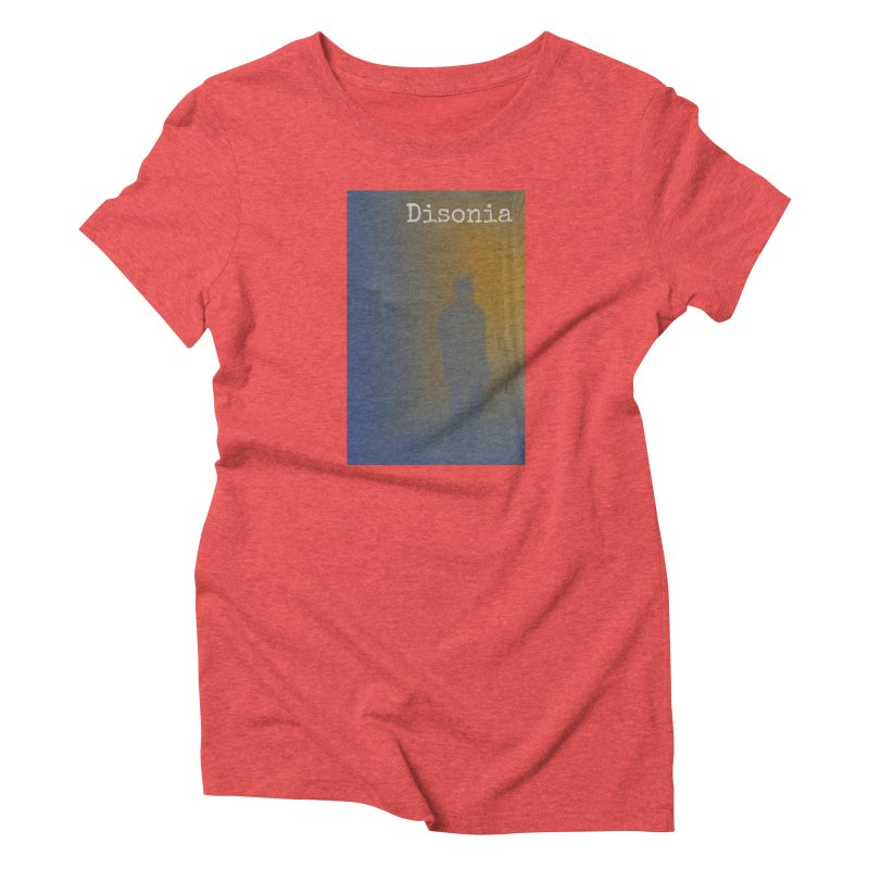 Disonia Cover Women's Triblend T-Shirt by disonia's Artist Shop