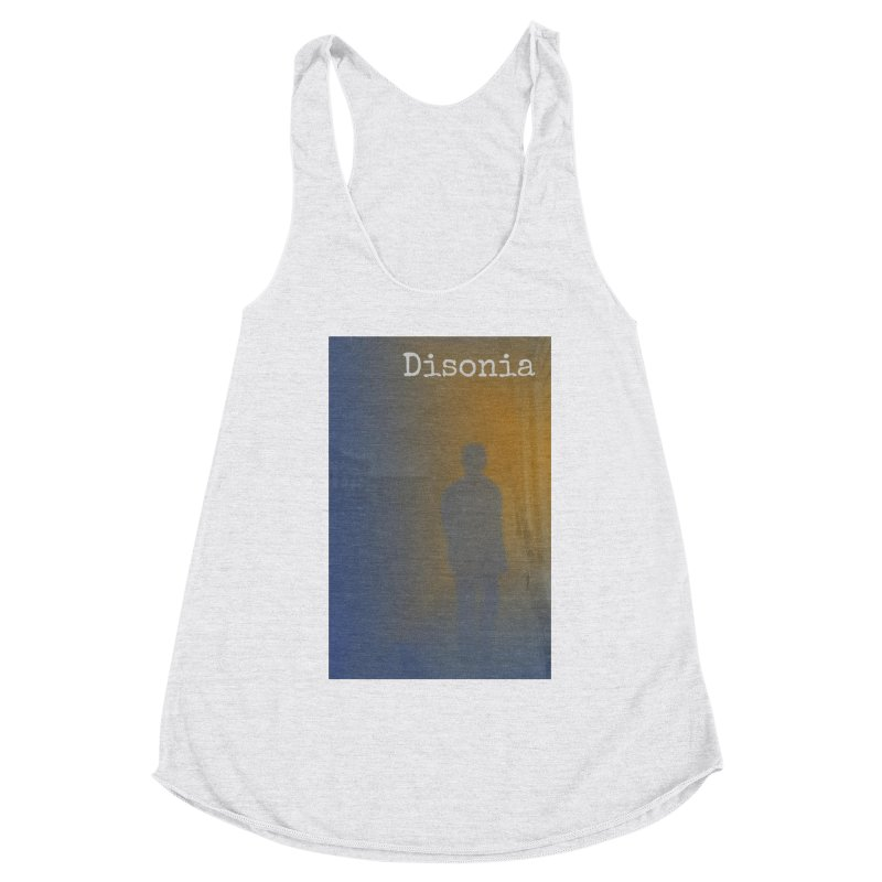 Disonia Cover Women's Racerback Triblend Tank by disonia's Artist Shop
