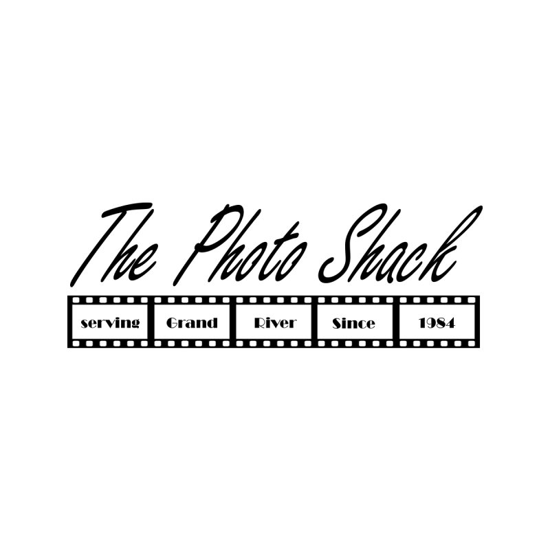 The Photo Shack Black Home Shower Curtain by disonia's Artist Shop