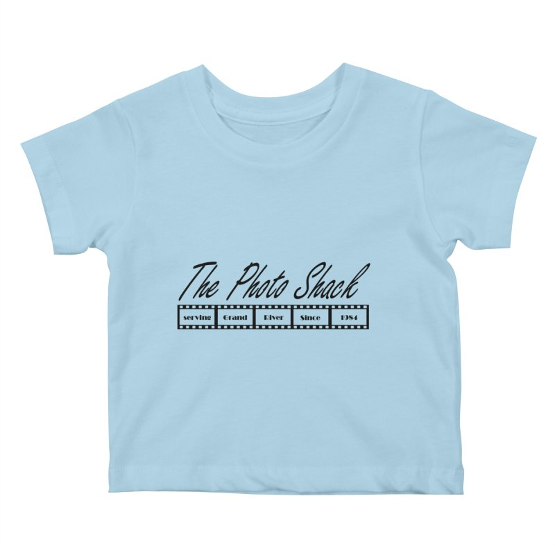 The Photo Shack Black Kids Baby T-Shirt by disonia's Artist Shop