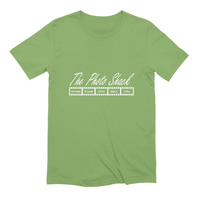 The Photo Shack - White Men's Extra Soft T-Shirt by disonia's Artist Shop