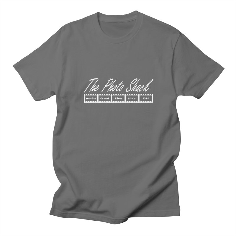 The Photo Shack - White Men's T-Shirt by disonia's Artist Shop