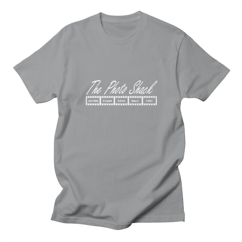 The Photo Shack - White Men's Regular T-Shirt by disonia's Artist Shop