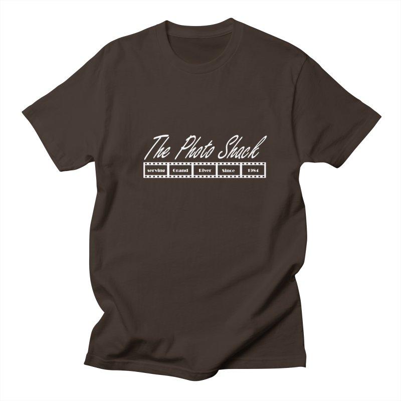 The Photo Shack - White Men's Regular T-Shirt by disonia's Artist Shop