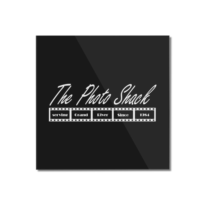 The Photo Shack - White Home Mounted Acrylic Print by disonia's Artist Shop