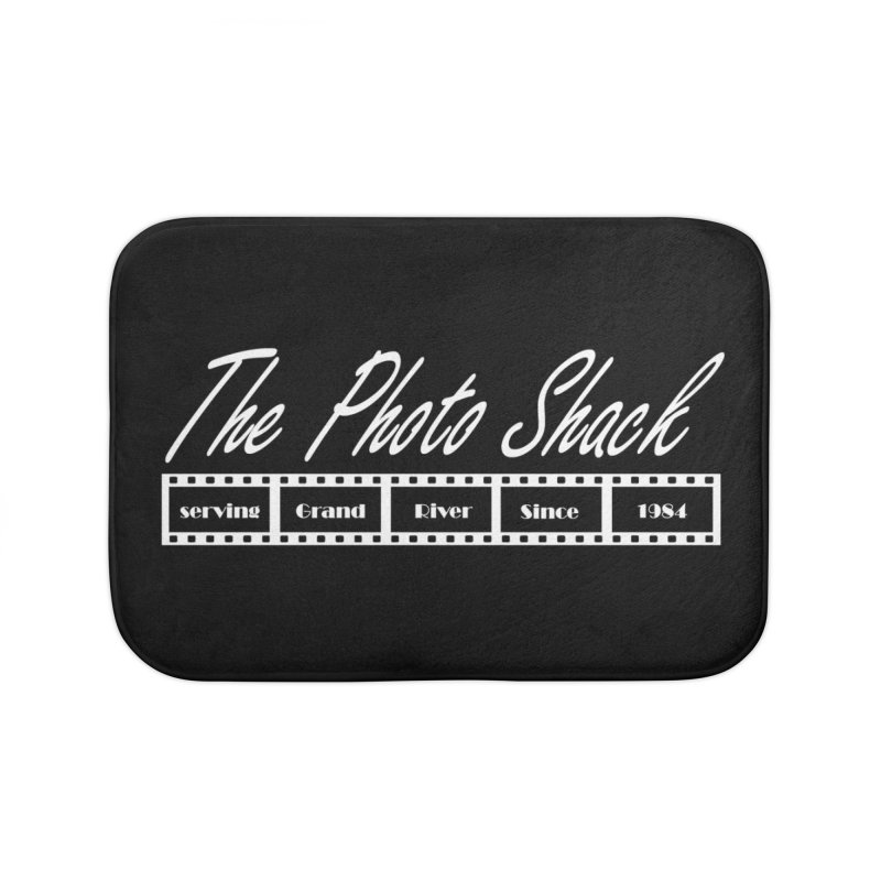 The Photo Shack - White Home Bath Mat by disonia's Artist Shop