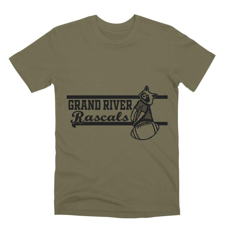 School Spirit Men's Premium T-Shirt by disonia's Artist Shop