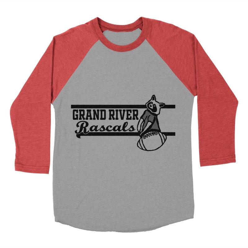 School Spirit Women's Baseball Triblend Longsleeve T-Shirt by disonia's Artist Shop