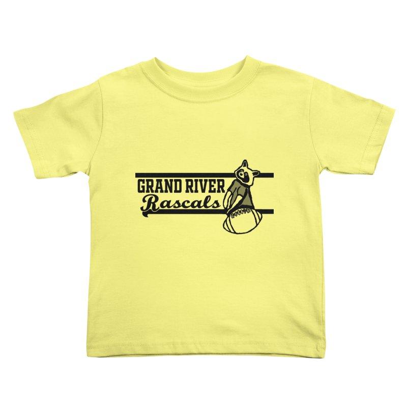 School Spirit Kids Toddler T-Shirt by disonia's Artist Shop