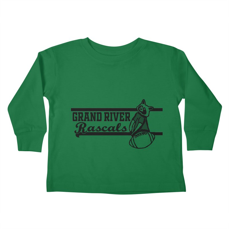 School Spirit Kids Toddler Longsleeve T-Shirt by disonia's Artist Shop