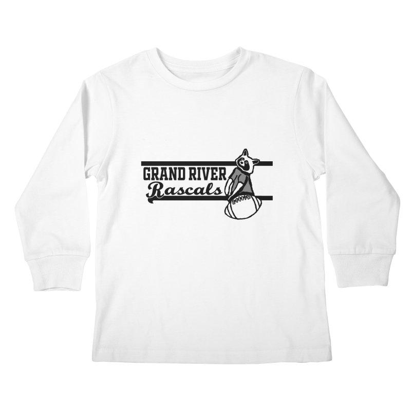 School Spirit Kids Longsleeve T-Shirt by disonia's Artist Shop