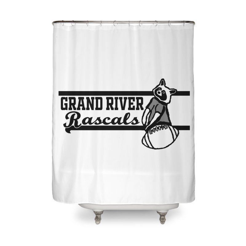 School Spirit Home Shower Curtain by disonia's Artist Shop