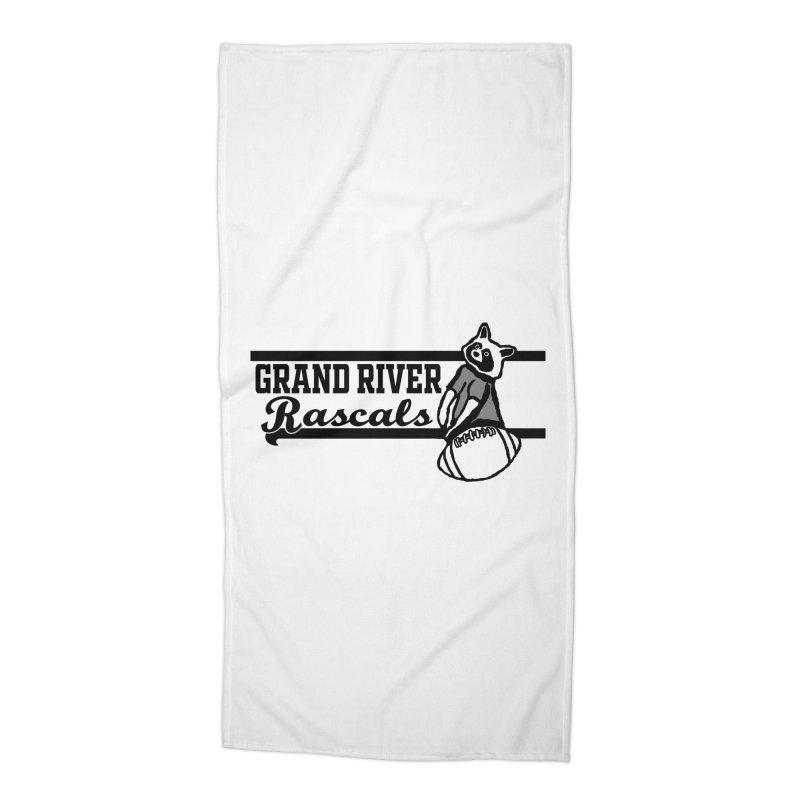 School Spirit Accessories Beach Towel by disonia's Artist Shop