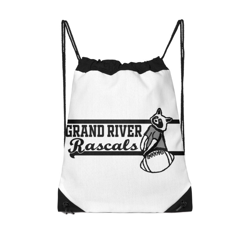 School Spirit Accessories Drawstring Bag Bag by disonia's Artist Shop