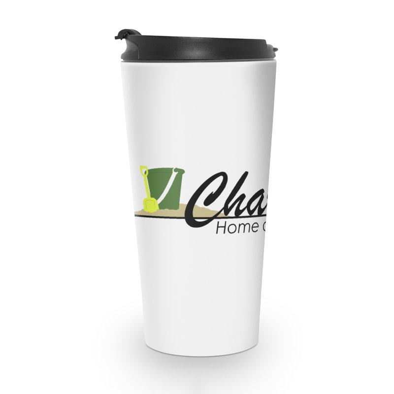 Charlie's Accessories Travel Mug by disonia's Artist Shop