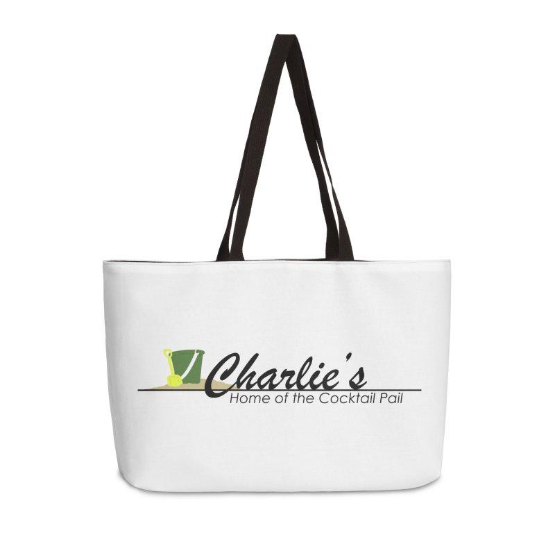 Charlie's Accessories Weekender Bag Bag by disonia's Artist Shop