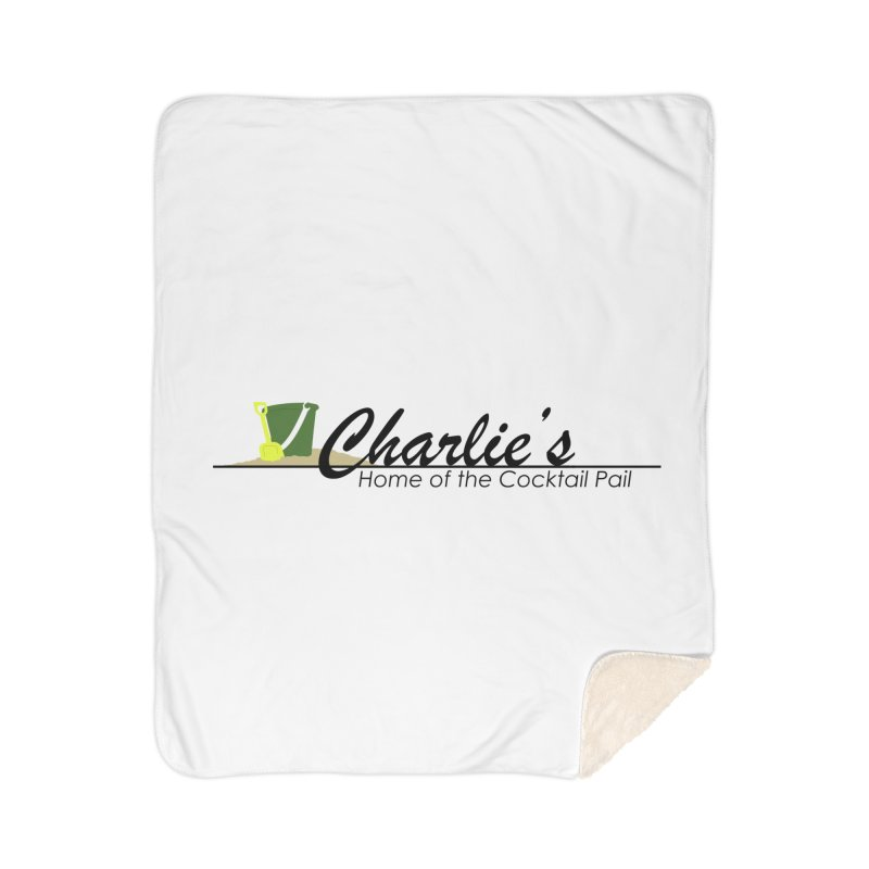 Charlie's Home Sherpa Blanket Blanket by disonia's Artist Shop