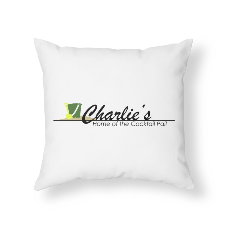 Charlie's Home Throw Pillow by disonia's Artist Shop