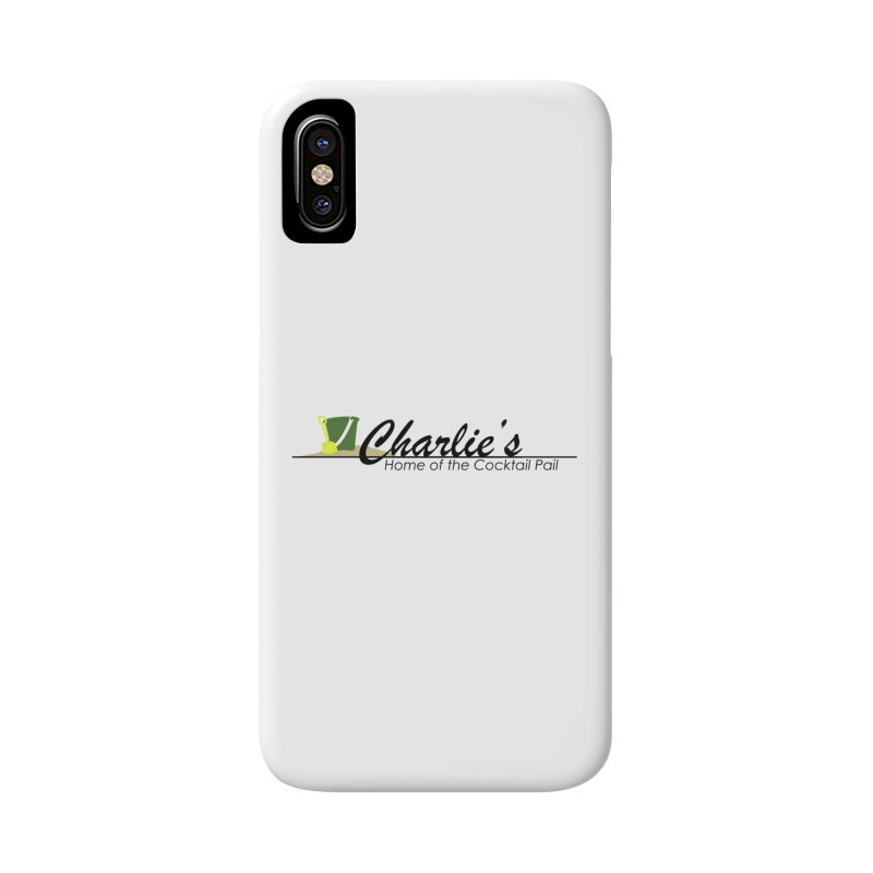 Charlie's Accessories Phone Case by disonia's Artist Shop