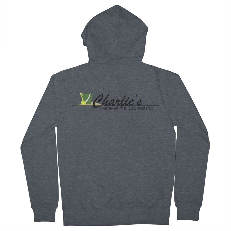 Charlie's Men's French Terry Zip-Up Hoody by disonia's Artist Shop