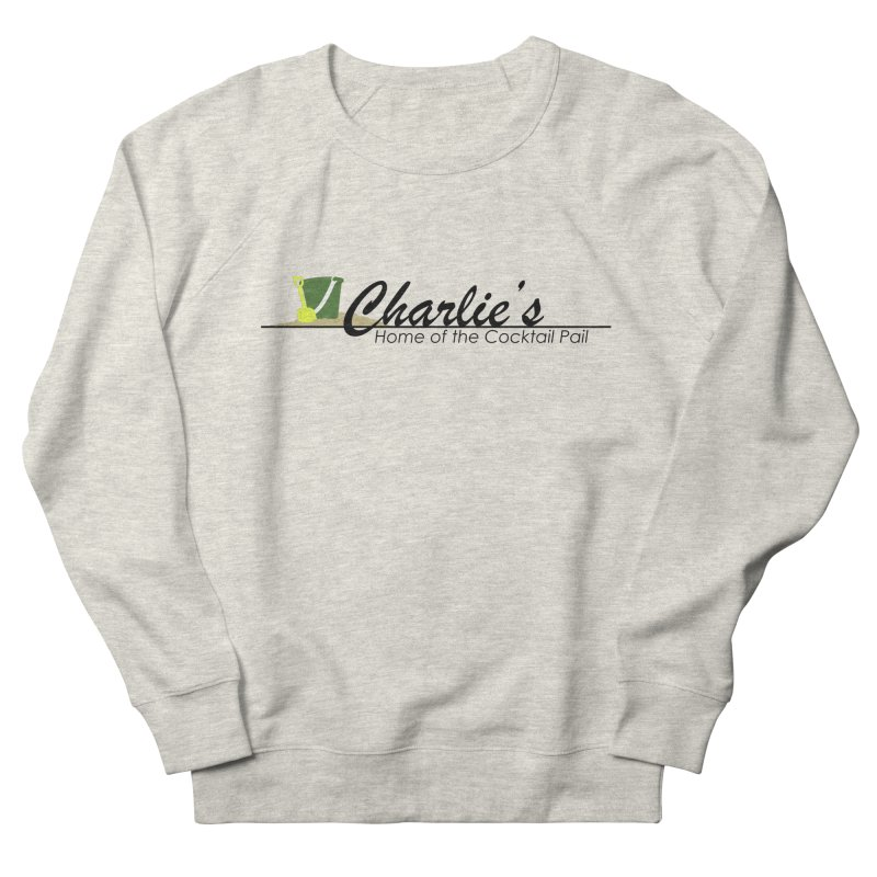 Charlie's Men's French Terry Sweatshirt by disonia's Artist Shop