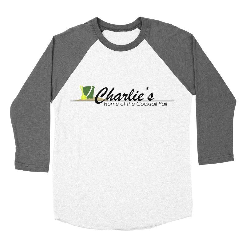 Charlie's Women's Baseball Triblend Longsleeve T-Shirt by disonia's Artist Shop